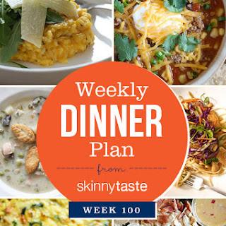 Skinnytaste Dinner Plan (Week 100).