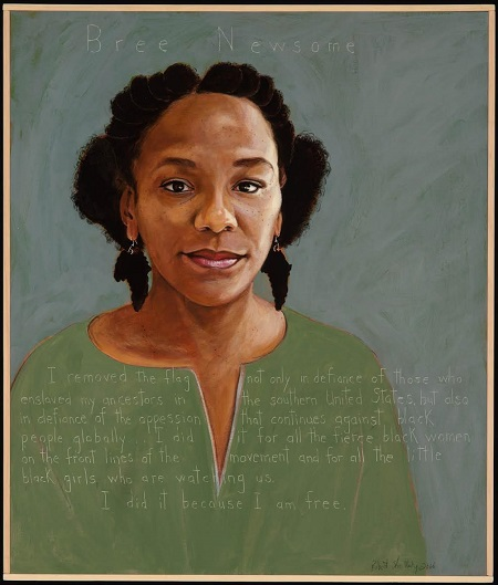 Bree Newsome Portrait by Robert Shetterly Low Res.jpg