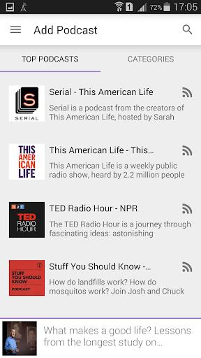 Podcast Radio Music Player