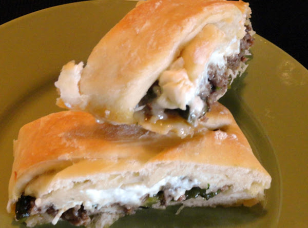 Beef & Green Chile Braided Loaves Recipe