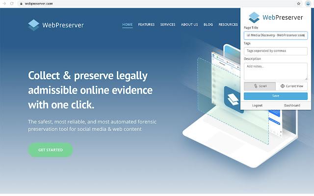WebPreserver