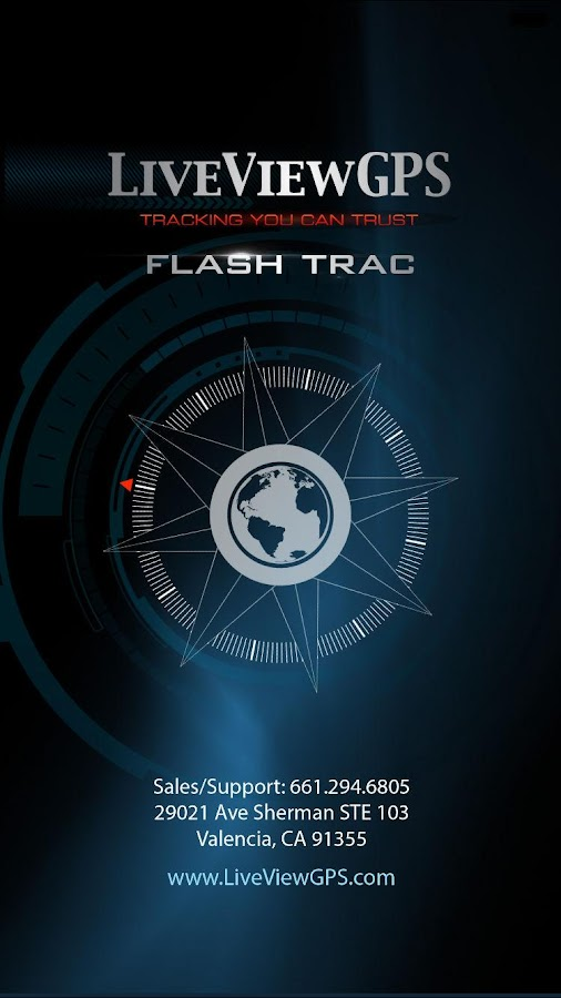 LiveViewGPS Flash Trac- screenshot