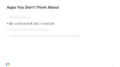 Photo: Create something original that's consistent with the Android aesthetic.