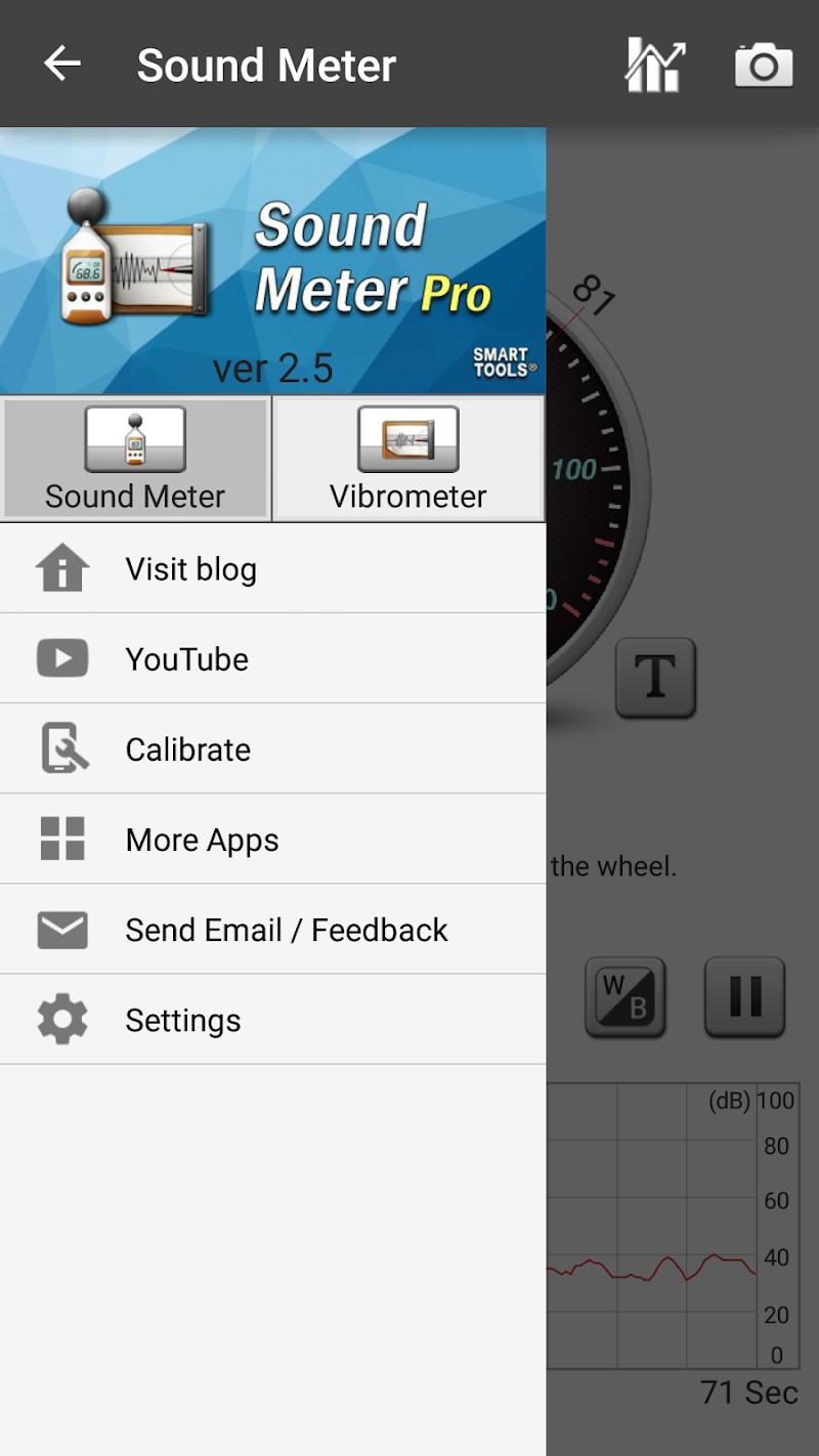 Sound Meter Pro Screenshot 3