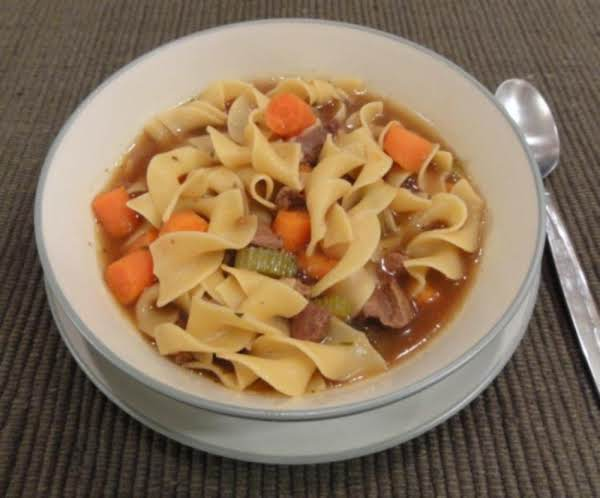 Beef Noodle Soup Recipe