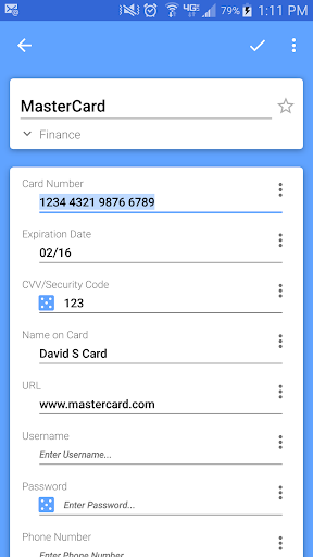 Passwords Plus Password Mgr screenshot 6