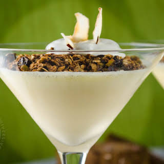 Coconut Lime Mousse.