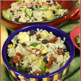 Italiexican Risotto Chopped