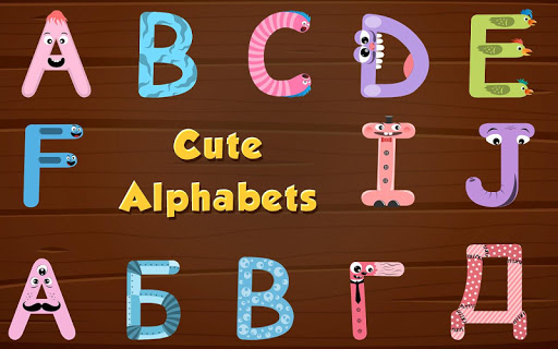 Alphabets game for baby kids - learn letters  screenshots 2