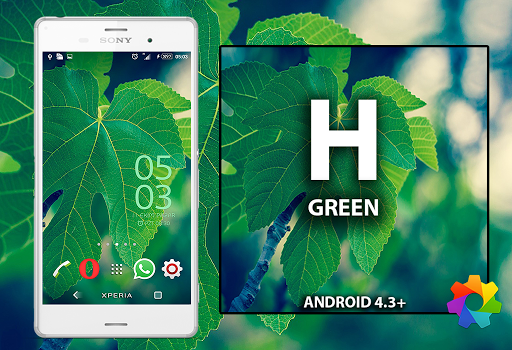 Xperiem Theme Halla Green
