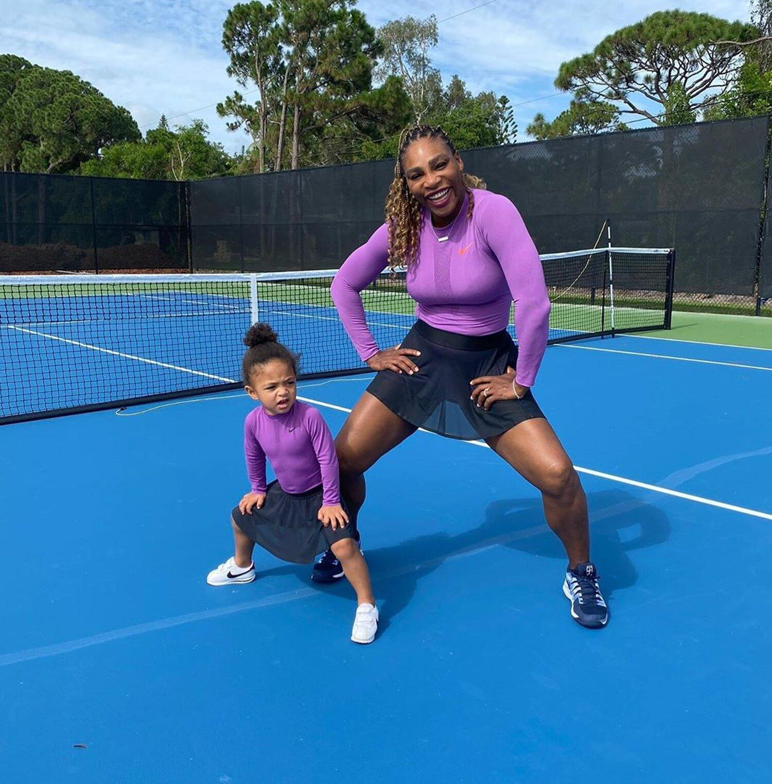 Serena Williams's Daughter Part Owner of New Soccer Team   PEOPLE.com