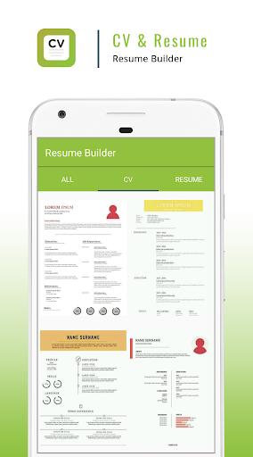Resume Builder App - CV Maker & Resume Creator ss1