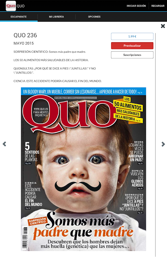 QUO Revista- screenshot