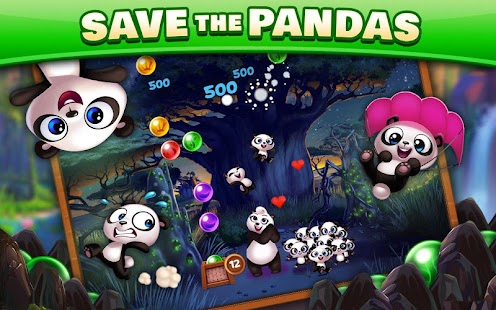 Panda Pop - Bubble Shooter Game. Blast, Shoot Free Screenshot