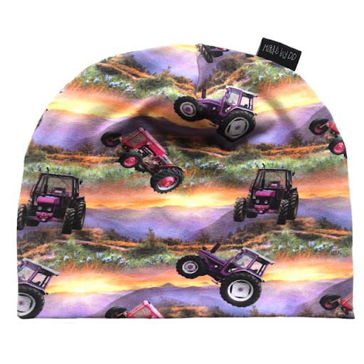 Made by DD Mössa Pink Tractor