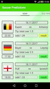 Soccer Predictions - náhled
