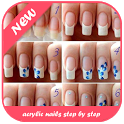Acrylic Nails Step By Step icon