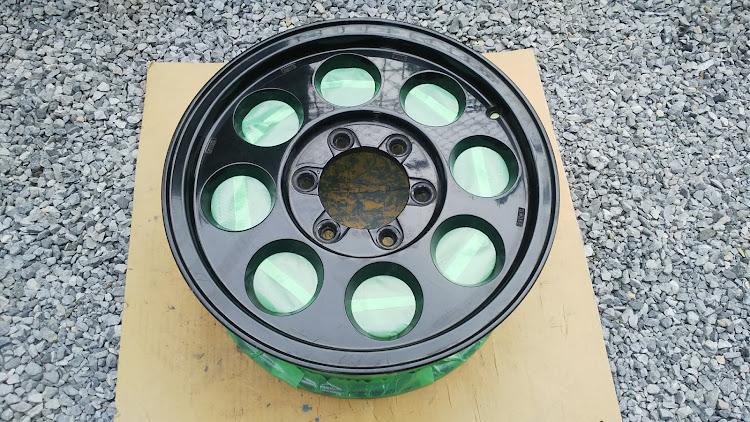 ハイエース TRH112Vのハイエース100系,タイサン,ホイール,塗装剥離,スケルトンに関するカスタム&メンテナンスの投稿画像2枚目