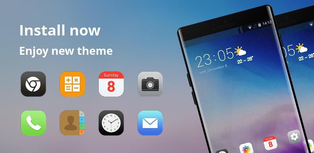 Theme for Xiaomi Mi 8 Pro galaxy star simple APK Download