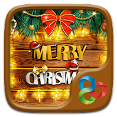 Merry Christmas Go Launcher Theme