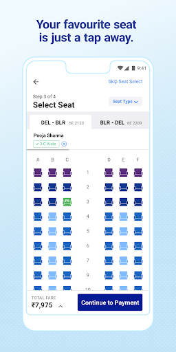 IndiGo-Flight Ticket Booking App 5.0.56 Screenshots 4