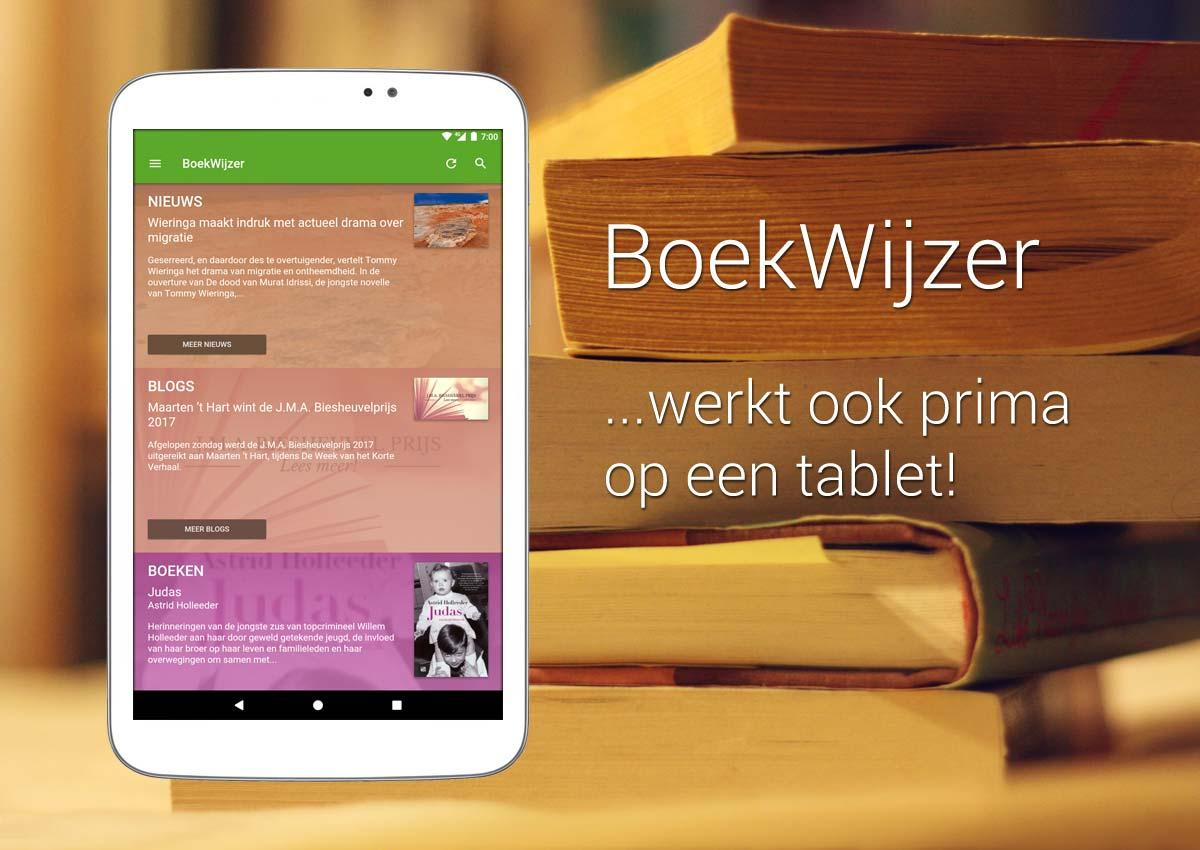 BoekWijzer- screenshot