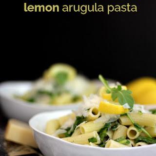 Lemon Arugula Pasta