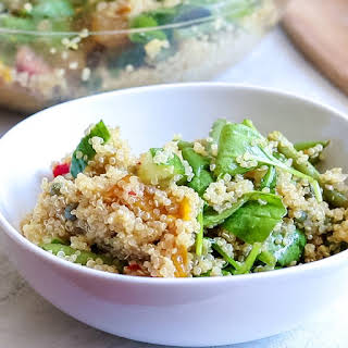 Spinach and Lemon Quinoa Salad.