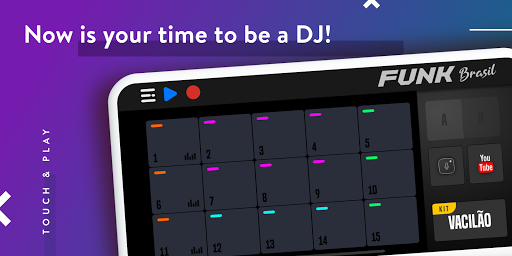 FUNK BRASIL: Become a DJ of Drum Pads screenshot 10