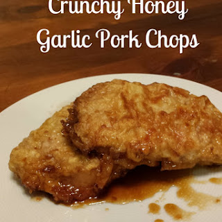 Crunchy Honey Garlic Pork Chops.