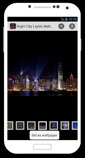 Night City Lights Wallpapers
