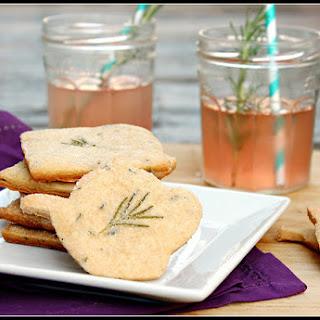 Rosemary-Lavender Shortbread.