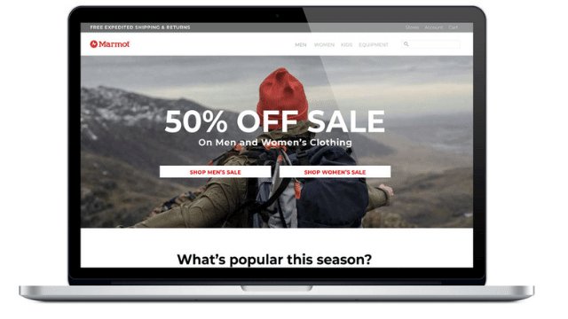 Add proper headers in ecommerce home page web architect club