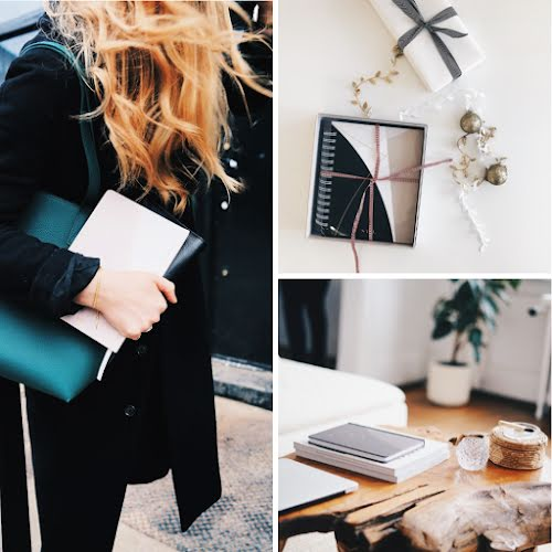 Workspace Collage - Pinterest Square Pin Template