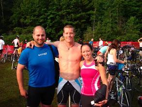 Photo: Bala Falls Triathlon with Jimbo and Mombo