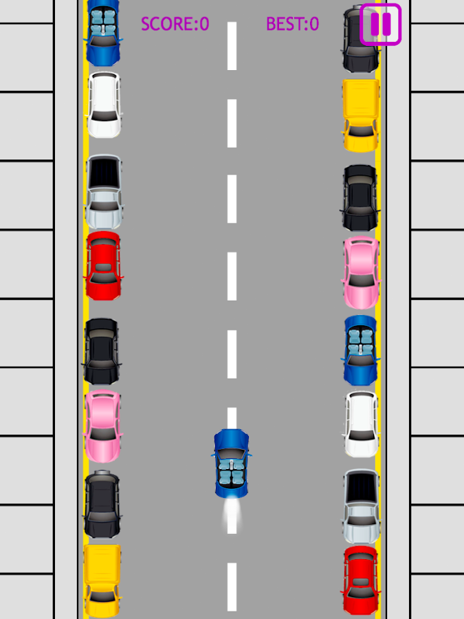 Drifting parallel parking- screenshot