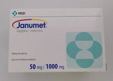 JANUMET 50/1000MG   TABLETAS CSX56 TAB MSD METFORMINA SITAGLIPTINA