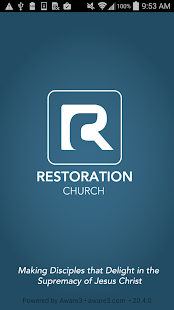 Restoration Church DC- screenshot thumbnail