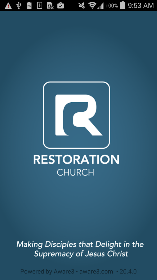 Restoration Church DC- screenshot