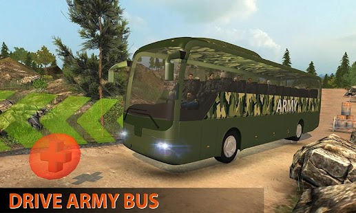 Real Offroad US Military Coach Transporter Sim - náhled