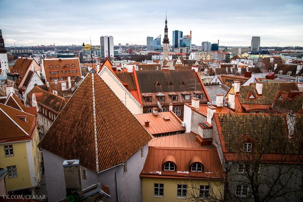 Таллин, район старого города.