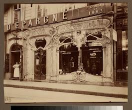 Photo: Boutique art nouveau, 45 rue st. Augustin (2e arr)