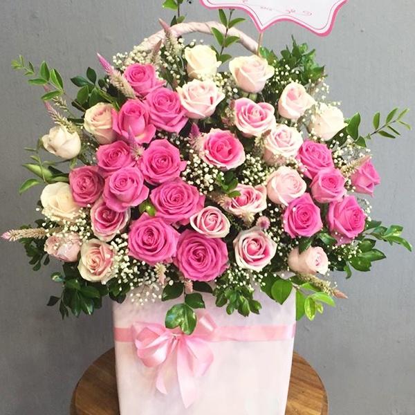 hoa tặng vợ yêu