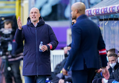 """Philippe Clement est déçu mais sport dans ses déclarations: """"Le football belge a besoin d'un bon Anderlecht"""""""