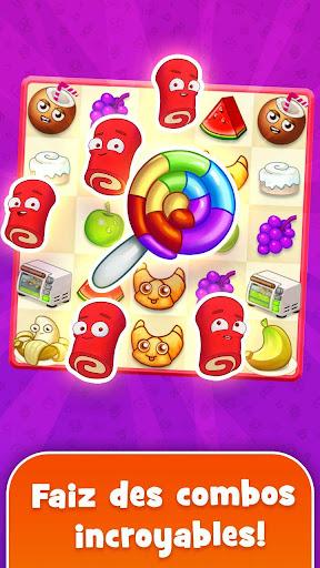 Sugar Heroes - combinar-3 mondial jeu!  captures d'écran 2