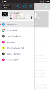 The Official MozCon 2017 App - náhled