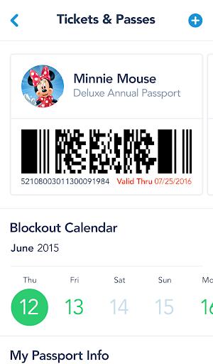 4 Disneyland App screenshot
