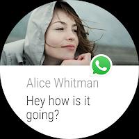 Screenshot of WhatsApp Messenger