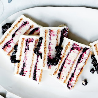 Blueberry-Lemon Icebox Cake recipe | Epicurious.com.