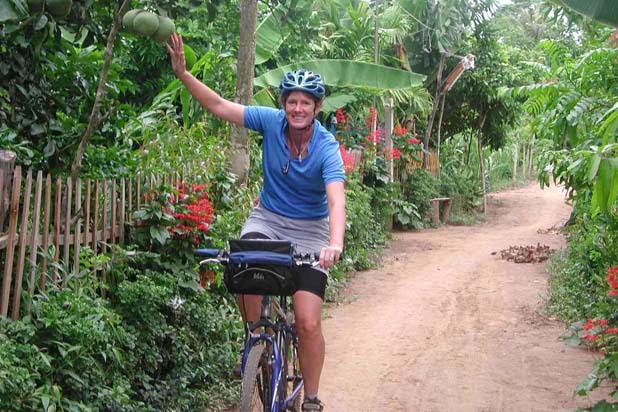 Mekong Delta biking off the beaten path